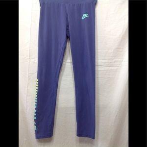 Girl's size Large NIKE elastic waist leggings